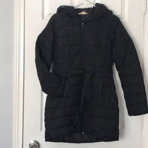 Hollister down puff coat